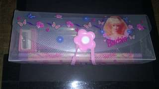 Barbie pencil case set