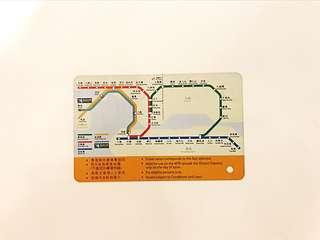 地鐵 舊地圖車票