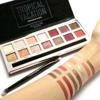 Focallure Tropical Vacation Eyeshadow Palette
