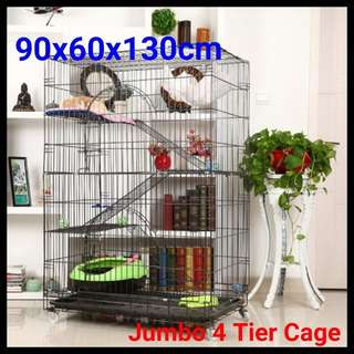 New 4 Tiers Cat cage /Pet cage / Bird cage Cheapest price in sg