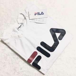 Fila Signature Classic Minimalist Logo Tee