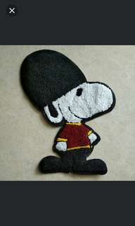 Sew on Patch  - Snoopy