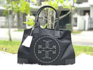 Authentic Tory Burch Nylon Tote Bag