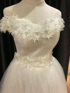 Wedding Gown white wedding gown bridal gown