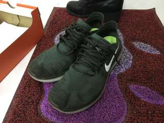 (PRICE REDUCED) Nike Free RN Flyknit 2017 - RARE Vintage Green Colour!