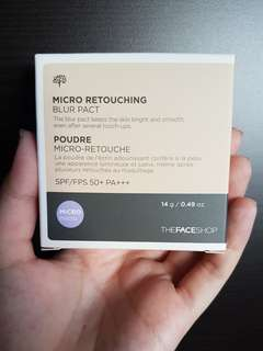 The Face Shop Micro Retouching Blur Pact refill N203