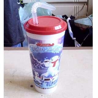 2000年可口可樂Winter Magic聖誕版塑膠杯一隻 (議價不覆)