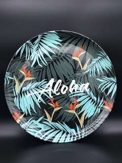 Decorative Serving Tray - Tropical Theme