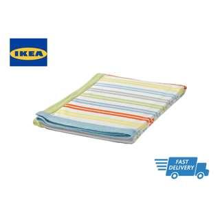 IKEA DRÖMLAND Blanket, multicolour FAST DELIVERY