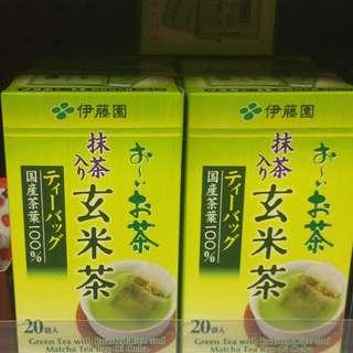 伊藤園抹茶玄米茶