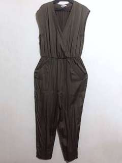 H&M | Army Green Jumpsuit