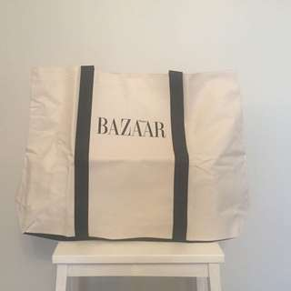 Ladies shopping Tote Harper's Bazaar