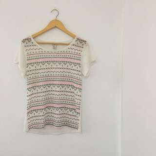 Forever 21 Tribal T-Shirt