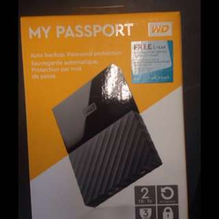 BRAND NEW WD MY PASSPORT (2TB)