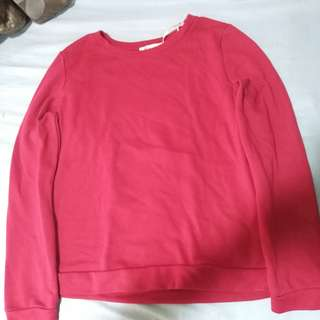 Plain & Simple Red Sweater