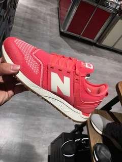 NB newbalance 247 粉綠黑 網布款 休閒 女款
