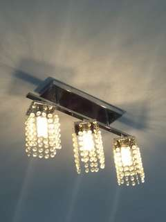 Simple chandelier light eith led