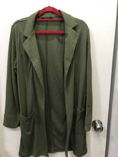 Ingni Olive Green Cotton Jacket