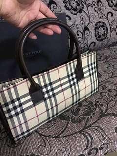 Authentic preloved Burberry handbag