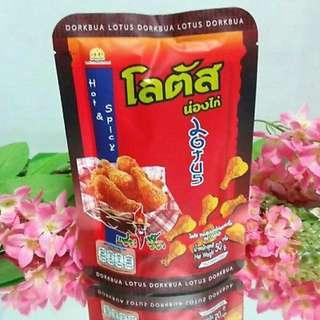 🚚 泰國剛下飛機 Dorkbua雞腿餅乾-香辣口味50g