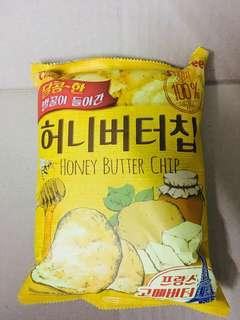 Korea imported honey butter chips