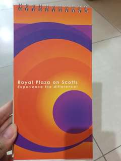 BN royal plaza notebook double sided
