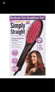 Hair straighthener