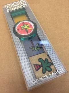 Swatch Watch 手錶 色彩繽紛 布錶帶 Swiss made