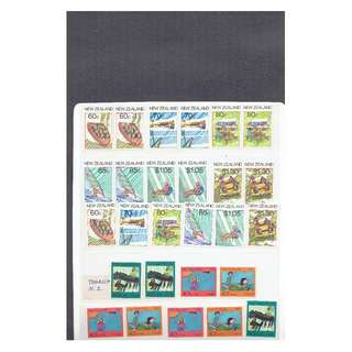 NZ 13  Miscellaneious New Zealand Mint stamps as in picture