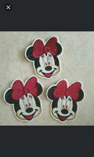 Sew on patch - Minnie Mouse