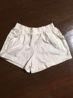 Mothercare white shorts