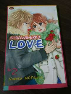 Komik Strawberry Love by Nodoka Morishita