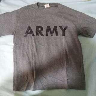 Gray ARMY Shirt