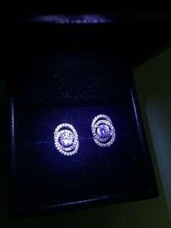水晶耳環 crystal earring