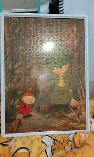 姆明史力奇阿美500塊砌圖連膠框 Moomin Little My puzzle 拼圖