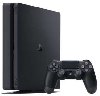 Ps4 slim (500gb) jet black