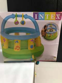 Inflatable baby gym