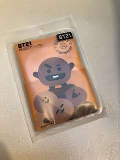 BT21 Shooky Passport Case