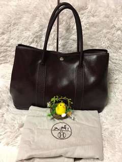 Authentic preloved HERMES GARDEN PARTY