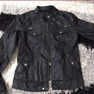 MNG PVC Leather Jacket