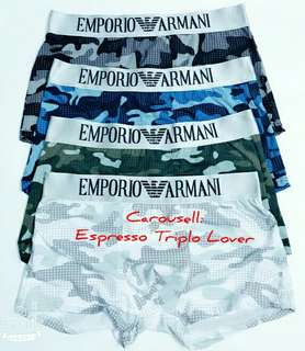 4pcs/set-Armani Men Boxer Set