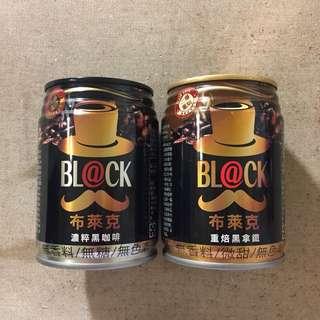 🚚 布萊克 濃粹黑咖啡 重焙黑拿鐵 240ml 罐裝