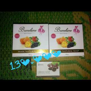Take all 2 bumebime soap FREE sabun kopi