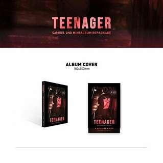 Samuel 2nd Mini Album Repackage: Teenager