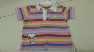 Snoopy Baby Shirt