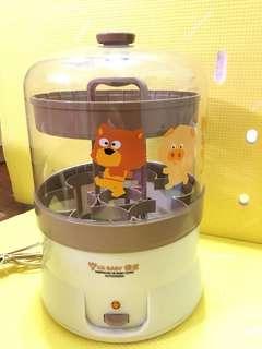 九成新 優生 奶瓶蒸氣消毒鍋