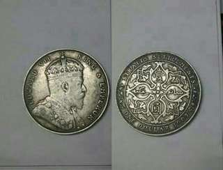 King Edwards 1907 Silver Dollar