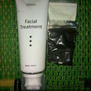 Ertos facial treatment FREE masker