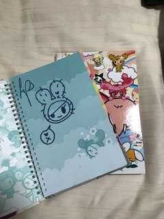 Tokidoki Notebooks x 2
