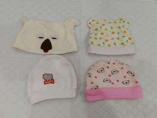 Baby Hats (4pcs)
